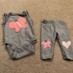 GAP Butterfly outfit set